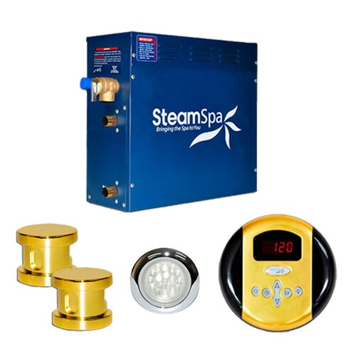 Steam Spa Indulgence 12 kW Steam Generator Package