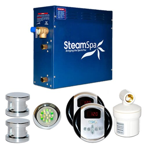 Steam Spa Royal 12 kW Steam Generator Package