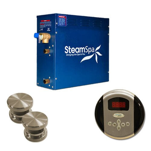 Steam Spa Oasis 12 kW Steam Generator Package