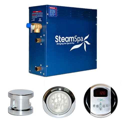 Steam Spa Indulgence 6 kW Steam Generator Package
