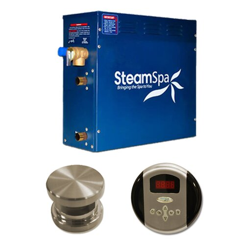 Steam Spa Oasis 4.5 kW Steam Generator Package