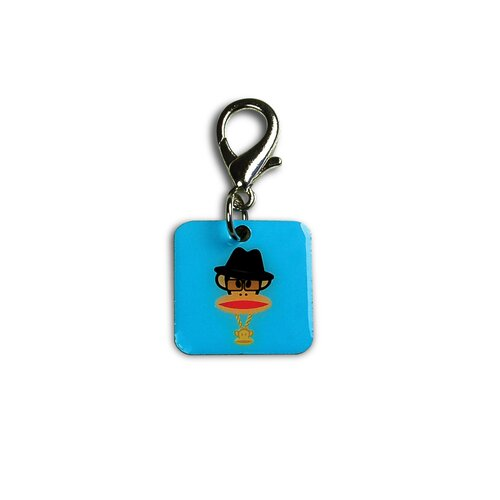 26 Bars & A Band Paul Frank 80's Rapper Dog Charm