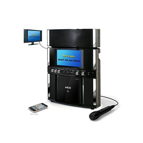 Akai DVD / CD plus G Karaoke Player