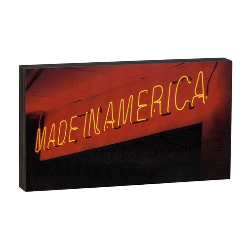 Summit Made in America Neon Wall Art