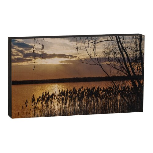 Summit Sunset Over Lake Wall Art