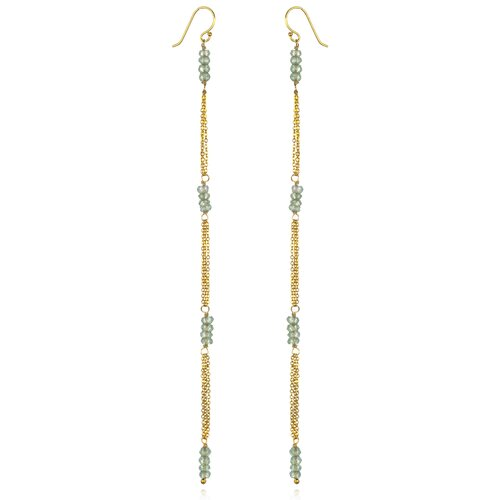 White Oak 18k Vermeil Mystic Topaz Cordelia Earrings