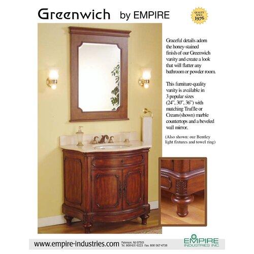 Empire Industries Greenwhich Bathroom Vanity Mirror