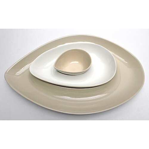 Vita V Home Skah Nested 3 Piece Serving Dish Set