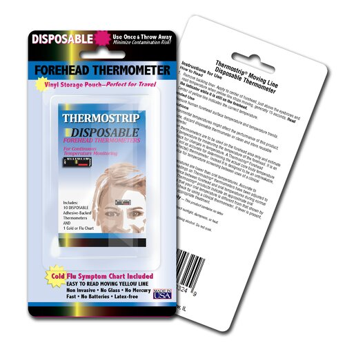 LCR Hallcrest Disposable Thermostrip Set (Pack of 3)