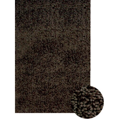 Abacasa Abacasa Lifestyle Shag Chocolate Multi Area Rug