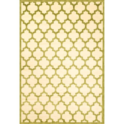 Sonoma Apple Green/Ivory Trellis Rug