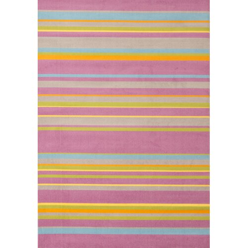 Jax Pink Stripes Rug