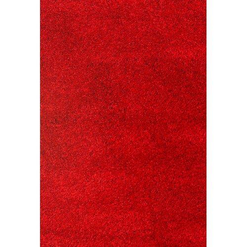 Comfort Shag Red Rug