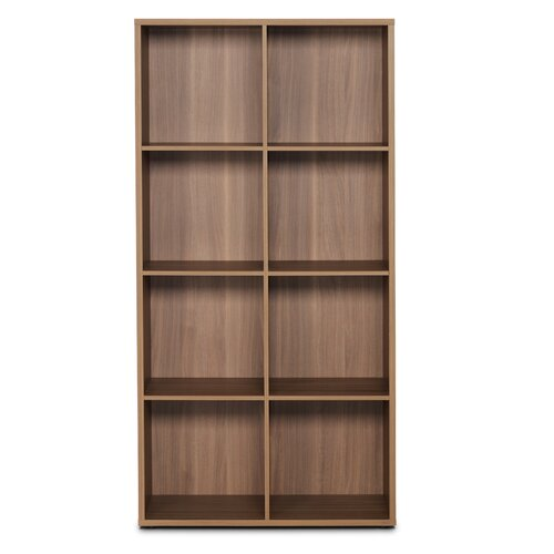 4 Row and 2 Column Open Cabinet
