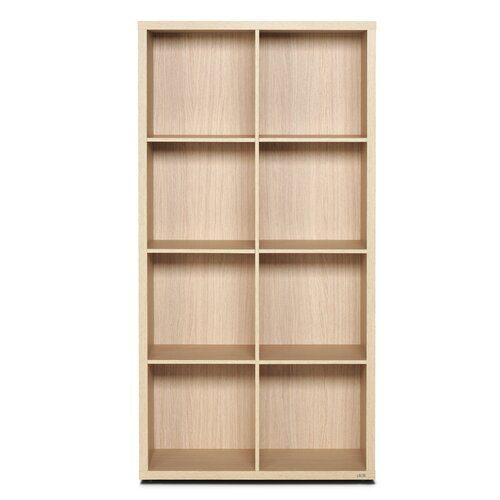 didit Click Furniture 4 Row and 2 Column Thick Framed Open Cabinet