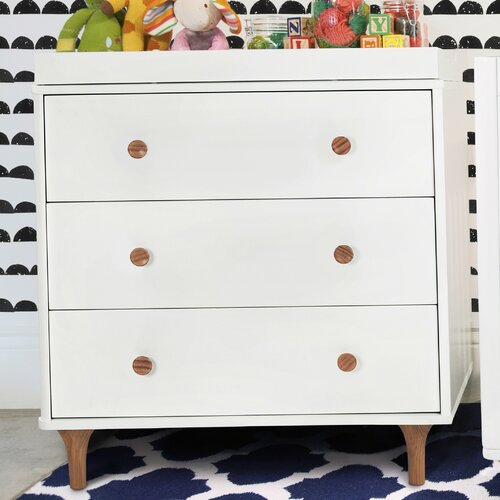 babyletto Lolly 3 Drawer Changer Dresser