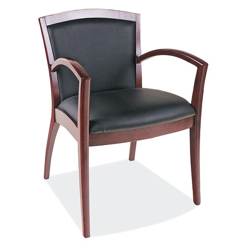 OfficeSource Napoli Guest Chair with Arms
