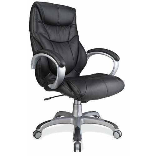 OfficeSource High-Back Executive Chair with Arms