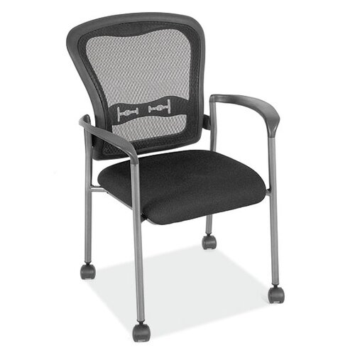 OfficeSource Spice Mesh Back Guest Chair with Arms