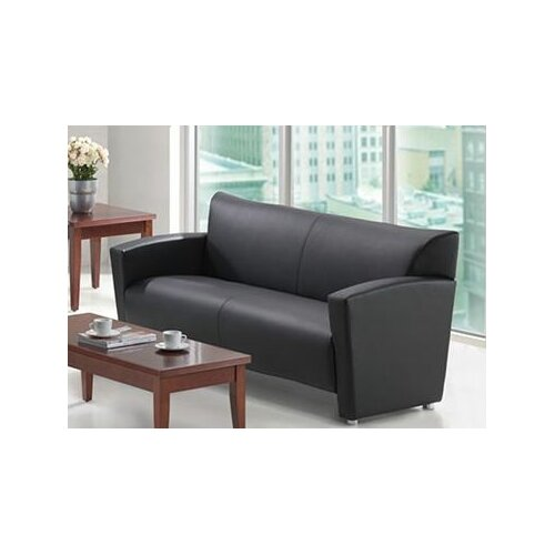 Tribeca Leather Loveseat