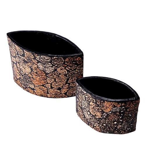 Foreign Affairs Home Decor Sampa Envelope Eggshell Vase 2 Piece Set