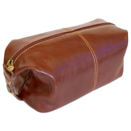 Venezia Leather Toiletry Bag