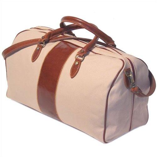 "Floto Imports Venezia 21"" Leather Travel Duffel"
