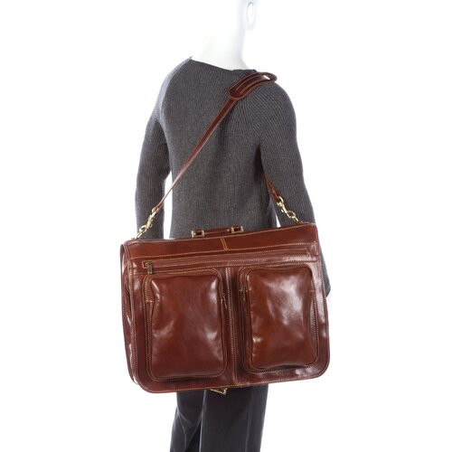 Floto Imports Venezia Leather Garment Bag