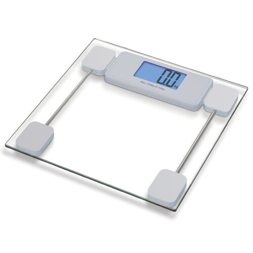 Extra Large LCD Digital Glass Screen for Bathroom Scale
