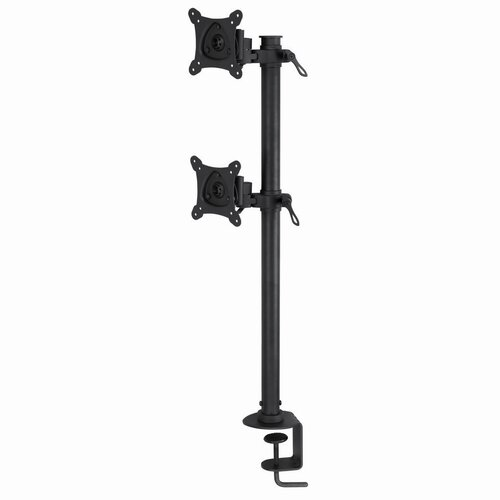 Adjustable Height 2 Screen Monitor Stand