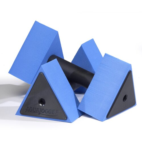 Aqua Jogger Deltabells Triangular Aquatic Dumbbells