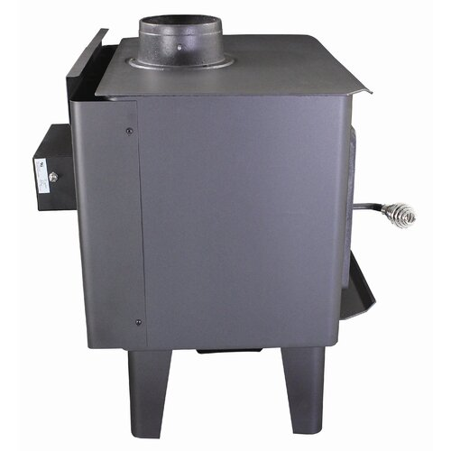 Vogelzang Frontiersman 1,000 Square Foot Wood Stove with Blower