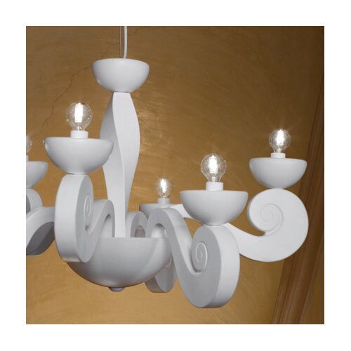 Masiero Botero 6 Light Chandelier