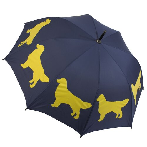 The San Francisco Umbrella Company Dog Park Golden Retriever Walking