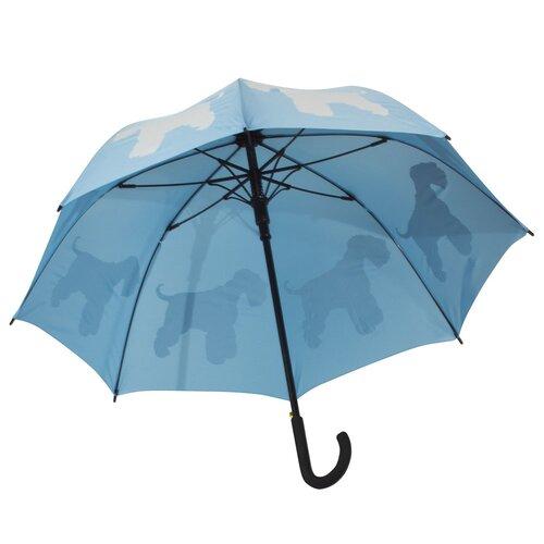 The San Francisco Umbrella Company Dog Park Schnauzer Silhouette