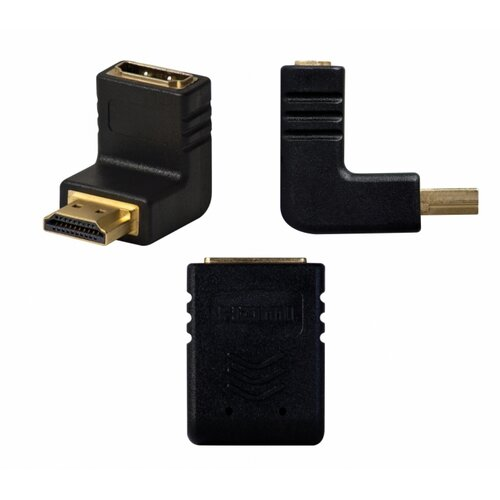 Audio Solutions HDMI Right Angle Adaptor Down