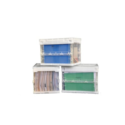 Trinity 17.5 Quart Collapsible Crate (4 Pack)