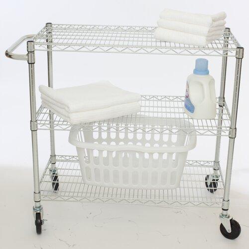 """Trinity EcoStorage™ 35.75"""" 3 Tier NSF Cart"""