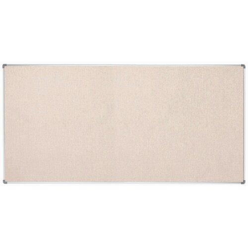 AARCO Burlap Weave Bulletin Board