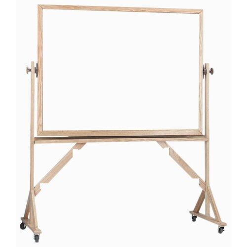 AARCO Reversible Free Standing Whiteboard