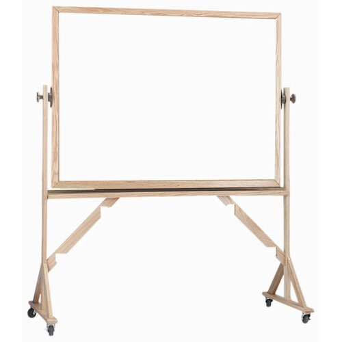 AARCO Reversible Free Standing Whiteboard