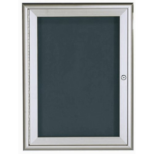 AARCO Enclosed Directory Cabinet with Waterfall Style Frame