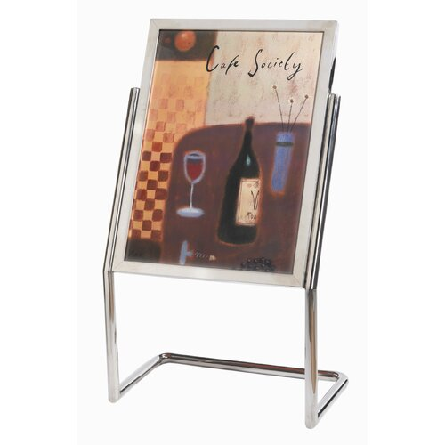 AARCO Menu and Poster Holder