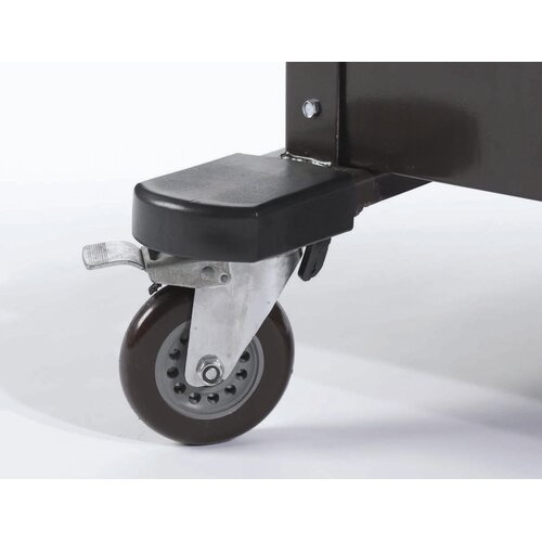 AARCO Rubber Bumpers Transport Casters