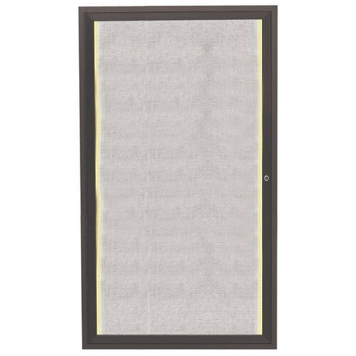 AARCO Enclosed 3' x 2' Bulletin Board