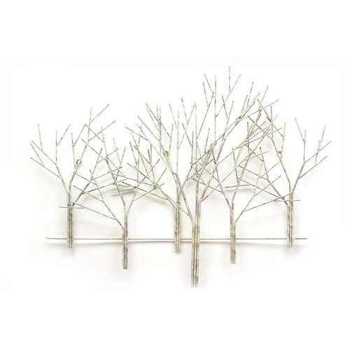 Fox Hill Trading Iron Werks Winter Orchard Wall Décor