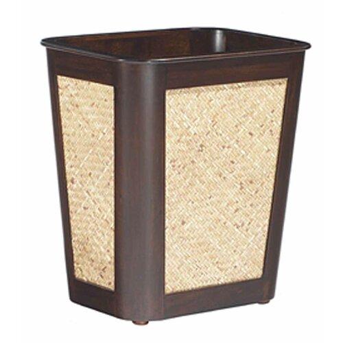 Woven rattan waste basket wayfair supply - Rattan waste basket ...