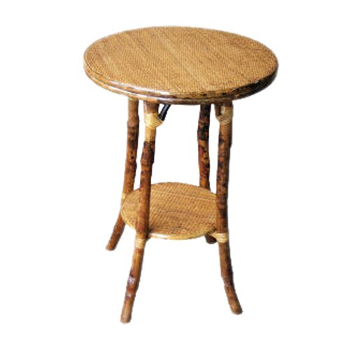 Kenian Coastal Chic English End Table
