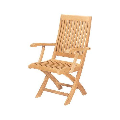 HiTeak Furniture Folding Armchair