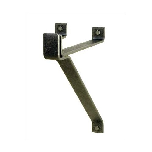 "Enclume 12"" Hammered Steel Wall Bracket"